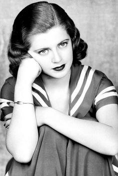 Lana Turner. I love her with darker hair.