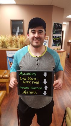 Neck Pain, Chiropractic, Asthma, Allergies