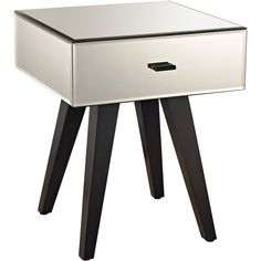 This Modern Mirror Leg Side Table FURNITURE from Dimond Home comes in Arabica finish. Part UPC: 843558139095 Weight: lbs. Height: 20 inches Width: inches Length: inches Finish: Arabica Material: Mirror,Wood Item Type: TABLE Vendor: Dimond Home Silver Side Table, Mirrored Side Tables, Elk Lighting, Modern Lighting, Modern End Tables, Mirrored Furniture, Entry Furniture, Furniture Nyc, Accent Furniture