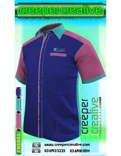 FMS001, F1 UNIFORM, Male Short Sleeve Shirt