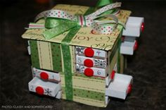 "Grouped together to create a one-of-a-kind advent calendar, the tiny ""drawers"" of matchboxes are perfect places to store chocolates, candies and toys. Any of these DIY options would be a perfect family craft activity leading up to the Christmas countdown"