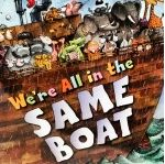 We're All in the Same Boat by Rabbi Zachary Shapiro of Temple Akiba; nice take on Noah's Ark story. #kidlit