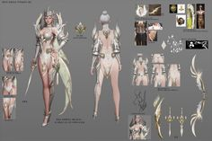 ArtStation - Ranger costume design for Black Desert online, teratoid park