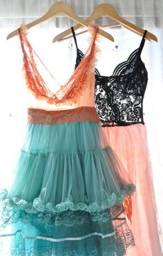 Vintage slip dress....love it