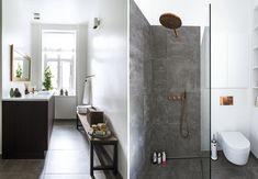 Udover at rumme toilet og brus er dette badeværelse et velduftende wellness-rum og et praktisk bryggers. En tre i én-løsning på blot 9 m2.