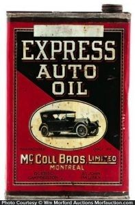 Express Auto Oil Can