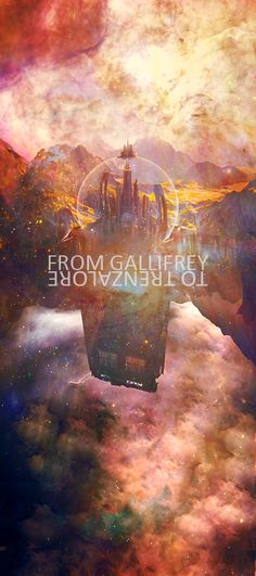 """The path I carved through time and space, from Gallifrey to Trenzalore. My own personal time tunnel, leading back to every moment I ever lived. Every step, every tear, every kiss. Even the days I haven't lived yet. Which is why I shouldn't be here. The paradoxes... very bad..."""