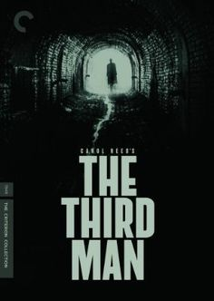 """The Third Man."" Film Noir perfection. The pinnacle of the genre. The music couldn't be better, and the stunning cinematography does what it should . . . propels the story along without becoming a distraction. Engrossing suspense thriller, with great performances by a superb cast."