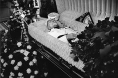 """Funeral for Harland """"Colonel"""" Sanders, 1980"""