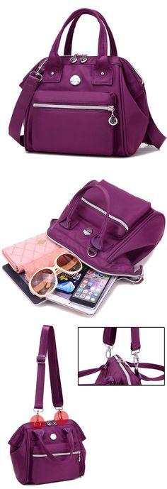 809a02847bdc Women Nylon Tote Handbags Casual Shoulder Bags Outdoor Capacity Crossbody  Shopping Bags