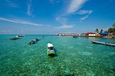 Derawan Island located in the Celebes Sea, on the coast of Berau, East Kalimantan, overlooking the mouth of the estuary known as the Delta River Kelai and Berau.