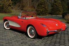 1956-57 Chevrolet Corvette.
