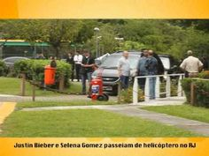 Justin Bieber leva Selena Gomez para passeio de helicóptero, no Rio