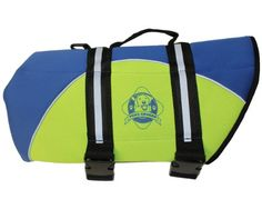 Paws Aboard BY1300 Neoprene Doggy Life Jacket, Small - http://www.thepuppy.org/paws-aboard-by1300-neoprene-doggy-life-jacket-small/