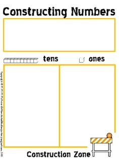 Here's a nice set of materials for constructing numbers using base-10 blocks.