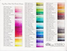 Mama Dini's Stamperia: Zig Clean Color markers - tips and resources
