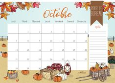 Advent Calendar, October, Holiday Decor, Pumpkin Patches, New Month, Organization, Advent Calenders
