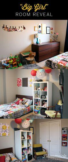 """Big Girl"" room decorating ideas"