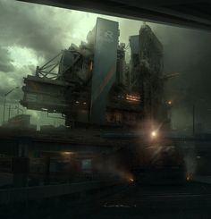 cyberpunkvisions:  Reactor 5 - Titus Lunter [http://tituslunter.deviantart.com/]