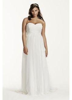 6df7a86969b1 Dot Tulle Sweetheart Neck Plus Size Wedding Dress 9WG3438 Wedding Dresses  For Curvy Women, Plus