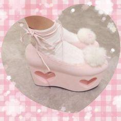 The Heian Princess : Photo Aesthetic Fashion, Aesthetic Clothes, Aesthetic Shoes, Sara Anderson, Baby Pink Aesthetic, Angel Aesthetic, Mode Kawaii, Kawaii Shoes, Kawaii Clothes