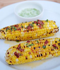SteakNPotatoesKindaGurl: Grilled Corn with Chipotle Butter and Lime Salt