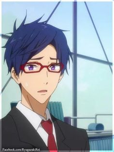 Ryugazaki Rei Hot Anime Guys, Anime Boys, Splash Free, Free Eternal Summer, Free Iwatobi Swim Club, Kyoto Animation, Free Anime, Swimmers, To My Future Husband