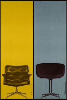 Herman Miller Collection Posters c.1961