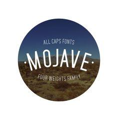 Mojave Typeface by Gumpita Rahayu, via Behance