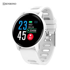 Buy SENBONO S08 IP68 Waterproof Smart Watch Men Fitness Tracker Heart Rate monitor Smartwatch Women Clock for android IOS Phone at www.smilys-stores.com! Free shipping. 45 days money back guarantee. G Shock Watches, Cool Watches, Watches For Men, Popular Watches, Sport Watches, Mvmt Watches, Cadeau High Tech, Smart Watch Price, Saving Money