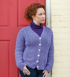 Celtic Crochet's Tipperary Sweater and Vest Pattern