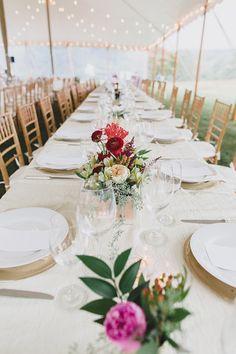elegant tablescape, photo by Jon Schaaf Photography http://ruffledblog.com/intimate-charlottesville-wedding #weddingideas #receptions