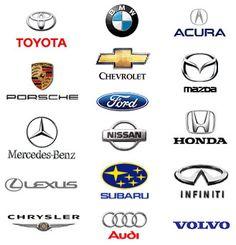 Multiple Car's logos