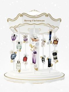 The Perfume Carousel, Christmas 2012 installation (height 2,5m), Hondos Center Athens, Greece.