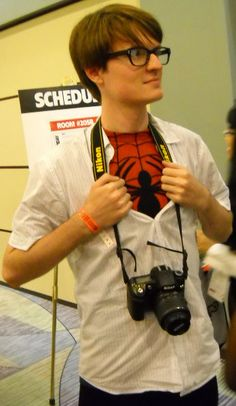Maybe I can hold your camera for you at Fan Expo to complete this look?