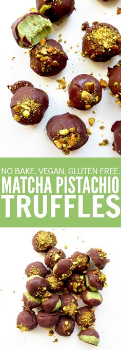 If you're a matcha lover, these no bake, gluten free, and vegan matcha pistachio truffles are your new favorite!! You'll love how easy and fun these are! thetoastedpinenut.com