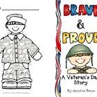 FREE Veteran's Day reader that shares what a veteran is.  The book is available in color and black and white. It is designe...