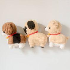 . #beagle #beaglelover #puglover #chihuahua #chihuahualover #pug #siberian #siberianhusky #amigurumidog #amigurumianimal #handmadegift…