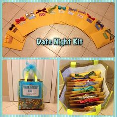 Here is the Date Night Kit  post I promised.    This was the Hostess Gift  and cost around $150 to put together.   It was a huge hit...and ...