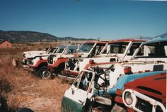I am broken hearted over the recent loss of our beloved Marv Spector..Rip Marv. Happy trails Marv & see you on the otherside. Landcruiser graveyard.photo by my father..Bob Brewer.