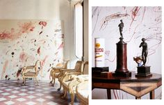 ELEGANT DIRTBAG: HOME BASE: Cy Twombly's Rome Abode, Shot By Horst P. Horst in 1966