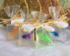 Fish Soap Fish in a Bag Soap Set of 10 by SeasideSoapKitchen