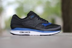 Picture of Nike Air Max Lunar1 Deluxe Black/Gym Blue-White