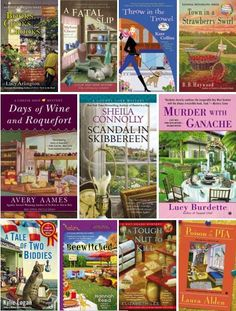 On Our Shelves: New Cozy Mysteries. | Winter's the perfect  time to curl up with a cozy mystery. Here are some of the newest additions to our collection... #cozymystery #books