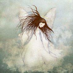 An angel in the sky. kr139,00, via Etsy.