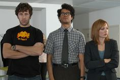 Love Silicon Valley? Try turning your machine off and on again, then booting up The IT Crowd (that's a joke you'll get when you start watching). This hilarious British sitcom chronicles an odd couple of IT guys trying to do as little work as possible in their dungeon of an office at a horrible corporation. Chris O'Dowd (before he became a household name in Bridesmaids) plays Roy, the ringleader, while Richard Ayoade is Moss, his introverted, nebbishy foil. And, just like the Pied Piper guys ...