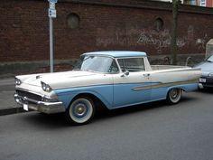 1958 Ford 2 Door Wagons | 1958 Ford Ranchero