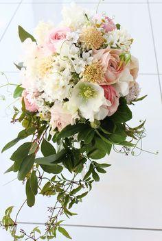 #vressetRose #Wedding #girlychic#smokypink #bouquet  #natural#Flower #Bridal #ブレスエットロゼ #ウエディング#ピンク #スモーキーピンク #ブーケ #カラーブーケ #ガーリー#キャスケードブーケ#花 #ブライダル#結婚準備#結婚式