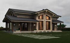 Дом в д. Ляды. 192 м2 двойной брус, деревянный дом, дерево, проект дома, проектирование, wood house, light