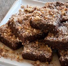Nepečené lieskovcovo-čokoládové raw brownies 1